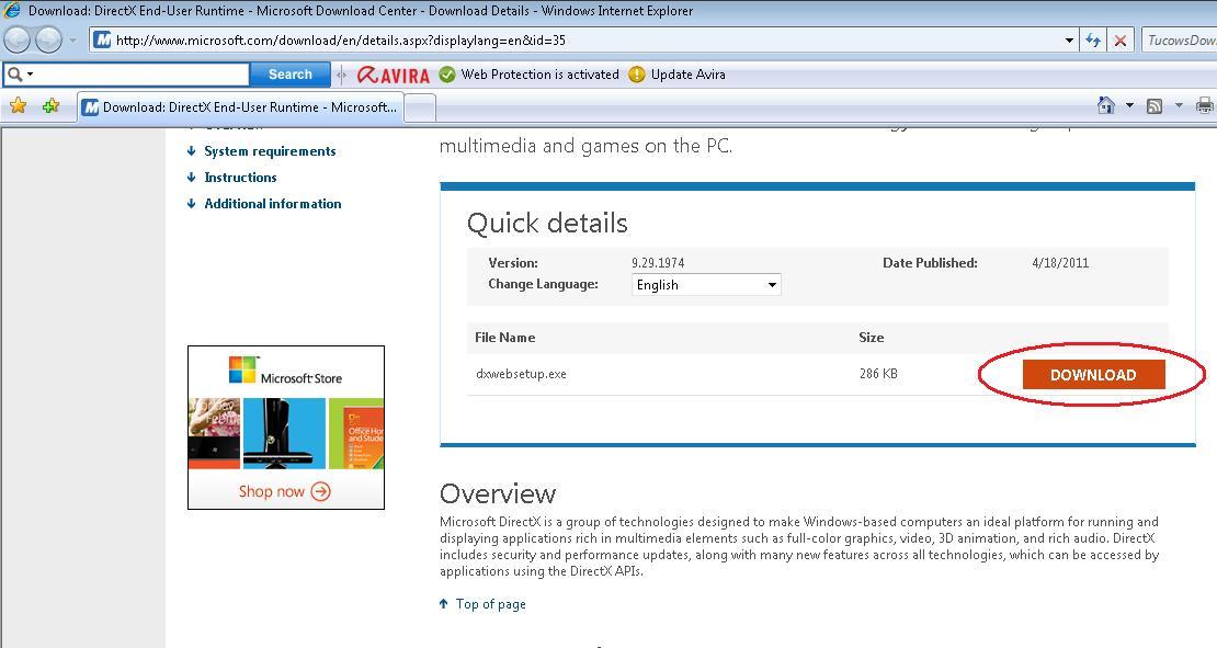 Download Directx 11 End User Runtime Offline Installer